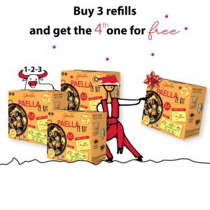Buy 3 Refills (2 to 4 servings) and get the 4th one for free